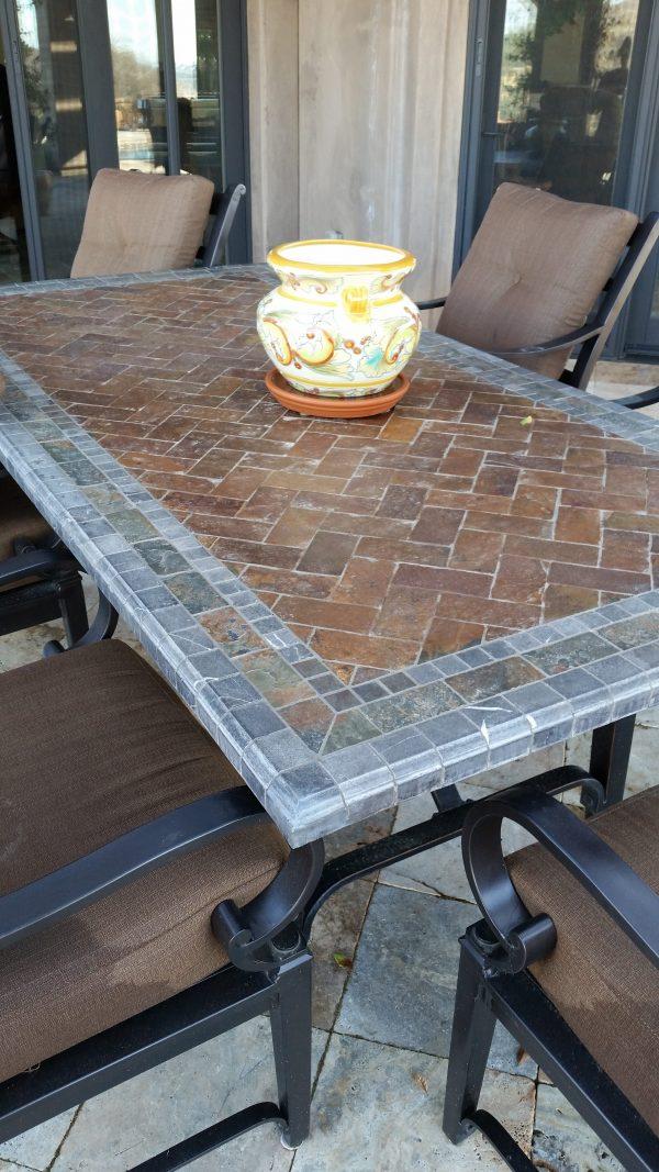 How To Repair Broken Granite Tile Table Corners